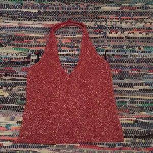 Zara sweater crop top M